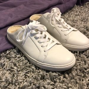 Kenneth Cole Slightly Off-White Open Back Sneakers